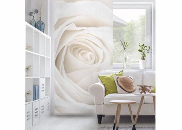 Панельная штора Pretty White Rose 250x120 см ED-141211