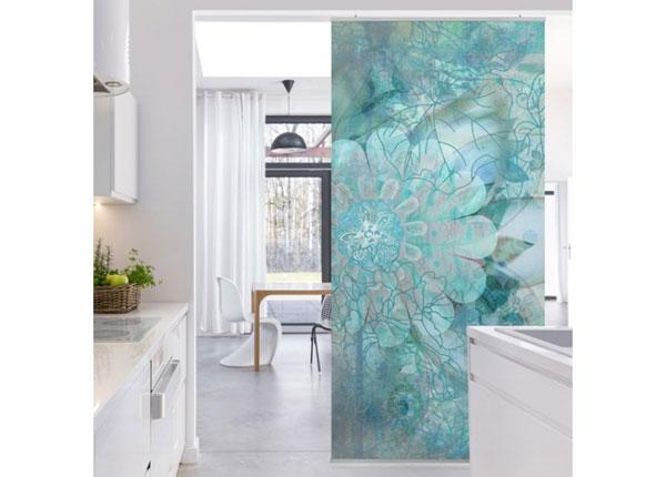 Панельная штора Winter Flowers 250x120 см ED-141215