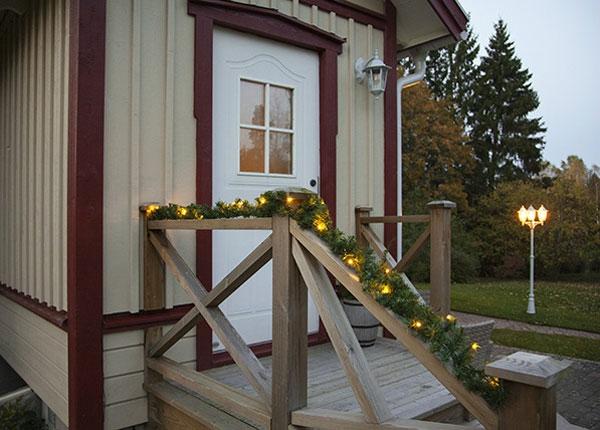 Венок Alaska с LED лампочками 270 cm AA-141249