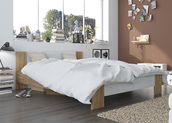 Кровать Vega 160x200 cm + матрас Prime Standard Bonell