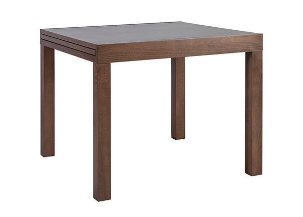 Удлиняющийся обеденный стол Tifani 90x90-180 см EV-142424
