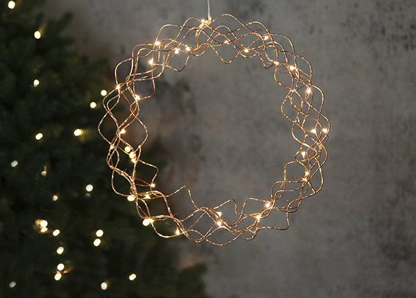 Украшение с LED лампочками Curly AA-142452