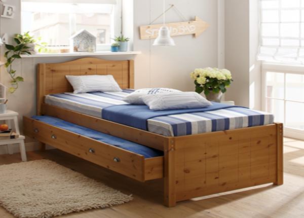 Кровать с двумя ящиками 140x200 cm FX-142455