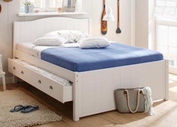 Кровать с двумя ящиками 140x200 cm FX-142456