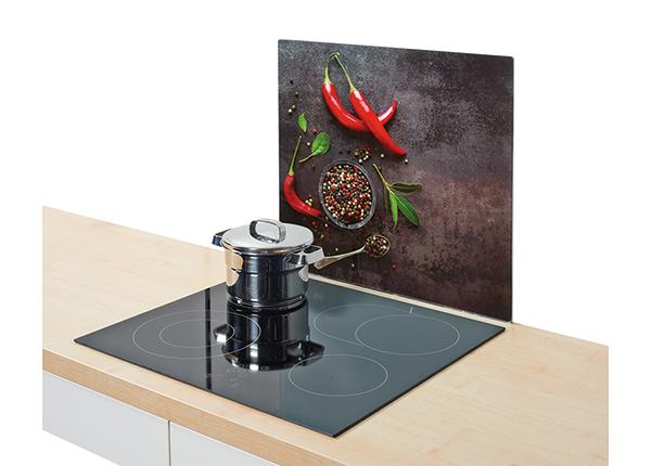 Защита от брызг на плиту Chilli 56x50 см GB-142503