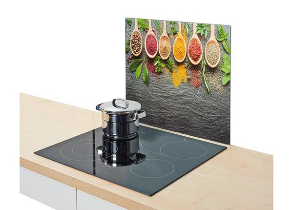 Защита от брызг на плиту Spices 56x50 см