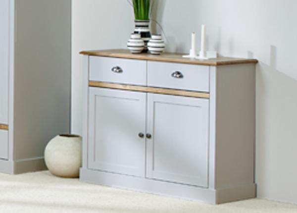 Комод Sandringham, серый/дубовая морилка CM-142516