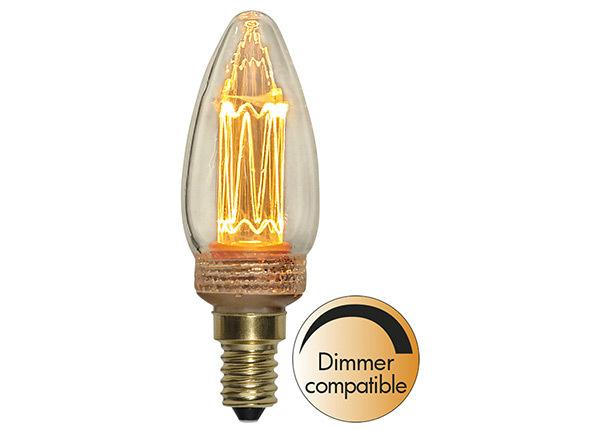 Декоративная LED лампочка E14 2,3 Вт