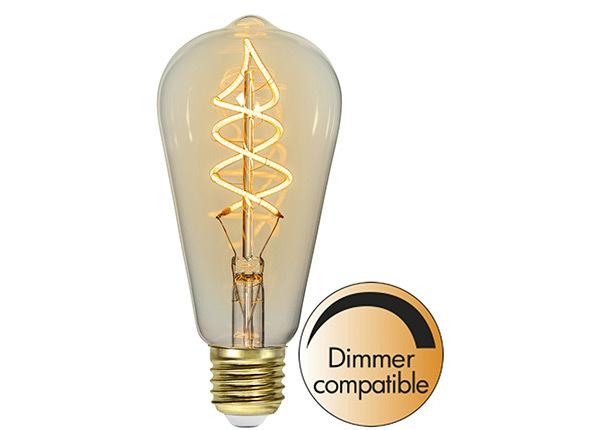 Декоративная LED лампочка E27 3 Вт