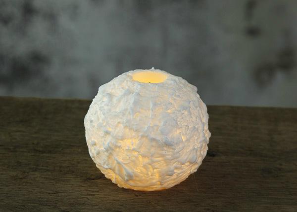 LED свеча Snowta из воска AA-142873