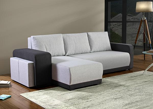 Угловой диван-кровать с ящиком Orion
