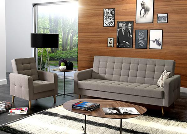 Диван-кровать и кресло