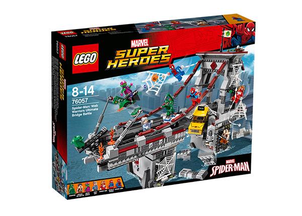 Конструктор Lego Super Heroes Человек-паук™: Последний бой воинов паутины™ RO-143177