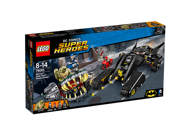 Конструктор Lego Super Heroes Batman™ убийца Крок RO-143178