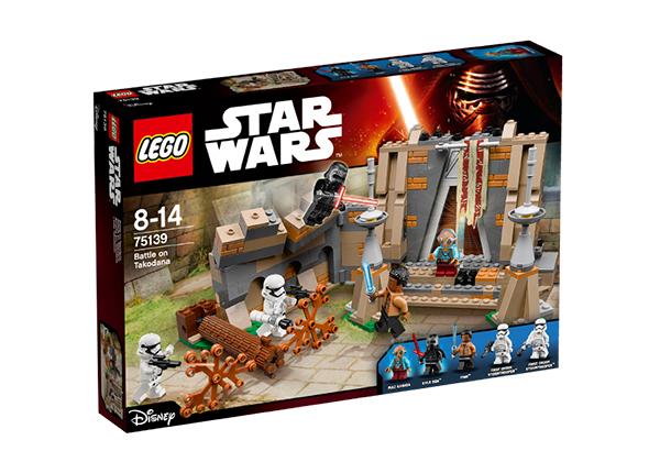 Конструктор Lego Star Wars Битва на планете Такодана RO-143179