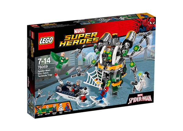 Конструктор Lego Spider-Man Doc Ocks Tentacle Trap RO-143180