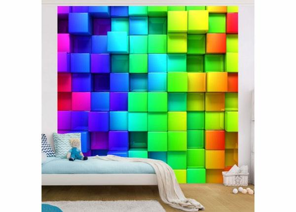 Флизелиновые фотообои 3D Cubes