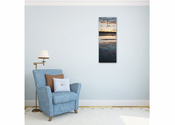 Настенные часы с картиной Beach ED-143777