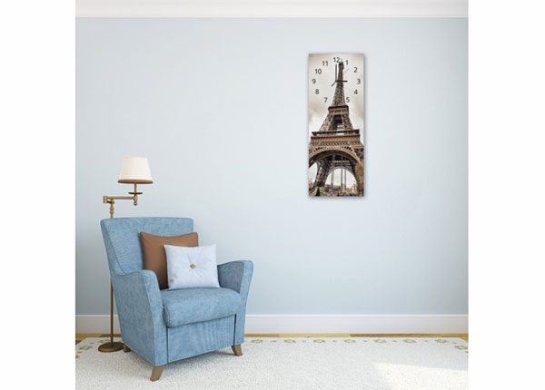 Настенные часы с картиной Eiffel Tower ED-143837
