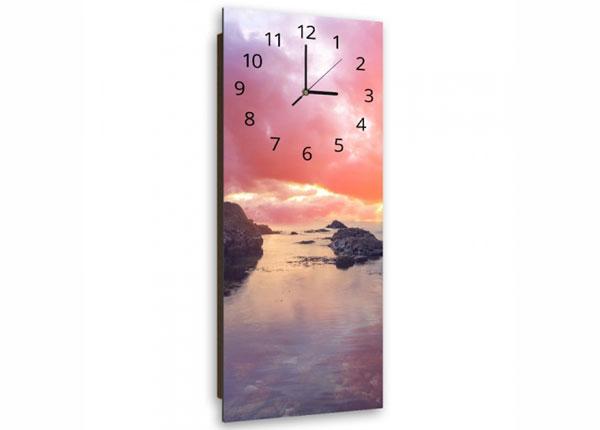 Настенные часы с картиной Rocks at sunset ED-143850