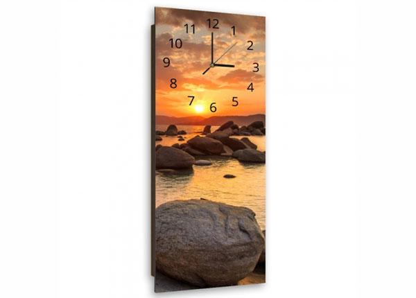 Настенные часы с картиной Stones at sunset ED-143860