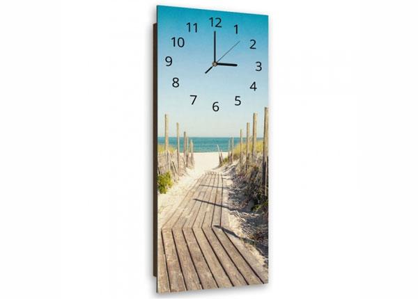 Настенные часы с картиной Road to the beach ED-143864