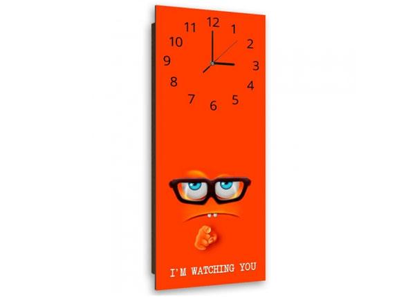 Настенные часы с картиной I'm watching you ED-143903