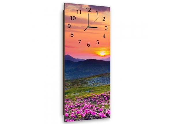 Настенные часы с картиной Mountain at sunset ED-143918