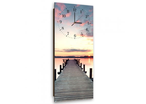 Настенные часы с картиной Bridge at sunset ED-143923
