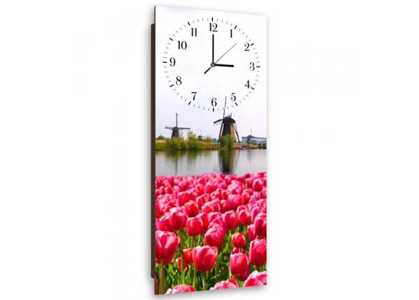 Настенные часы с картиной Tulips ED-143945