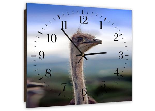 Настенные часы с картиной Ostrich ED-143954