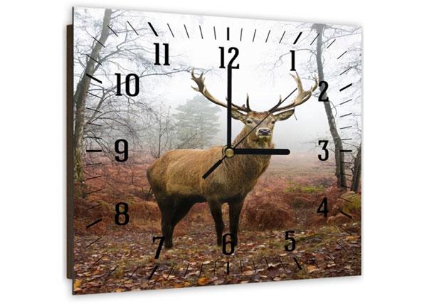 Настенные часы с картиной Deer ED-143984