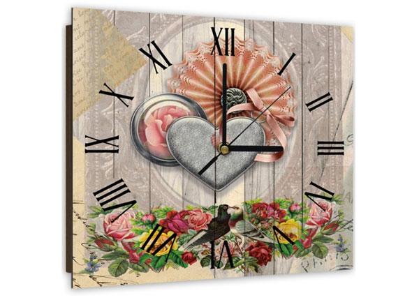 Настенные часы с картиной Composition