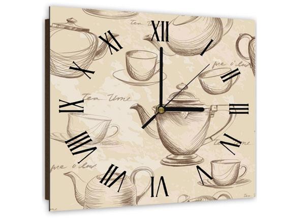 Настенные часы с картиной Tea time