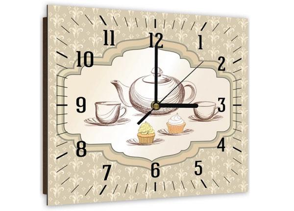 Настенные часы с картиной Tea time 1