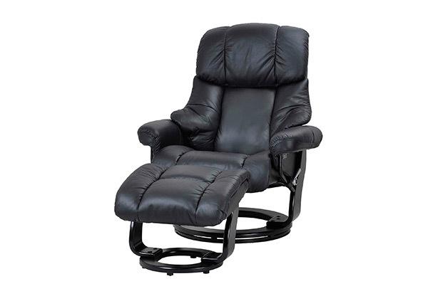 Кресло + пуф Crown