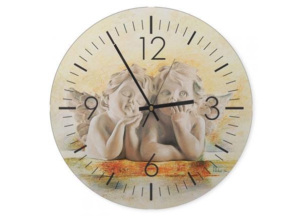 Настенные часы с изображением Angels 1 ED-144273