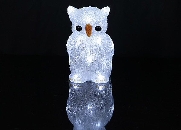 LED декорация Сова