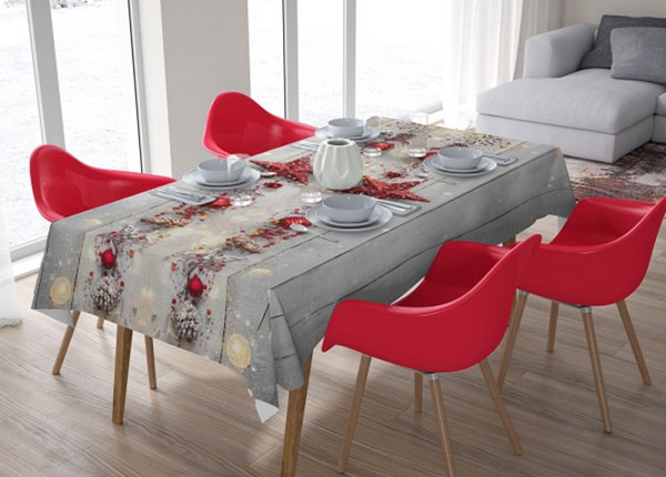 Рождественская скатерть Red Star 100x140 см ED-144887