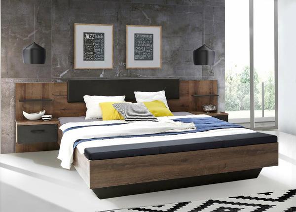 Кровать 140x200 cm + 2 тумбы TF-145122