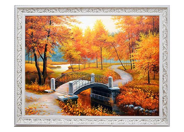 Масляная картина Золотая осень 110x140 см