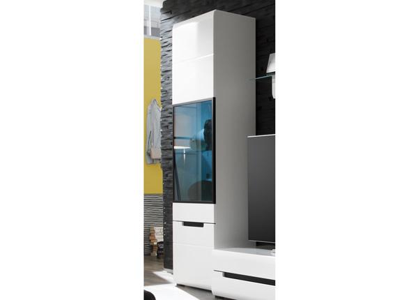 Шкаф-витрина Hektor, левосторонняя WS-145439
