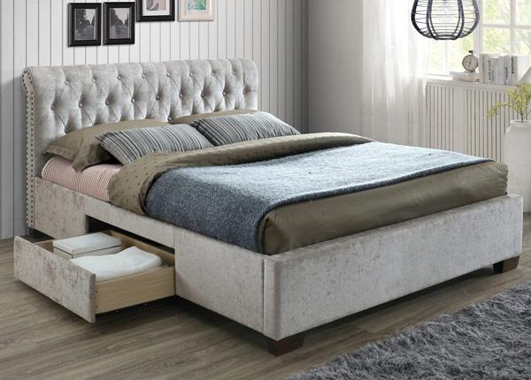 Кровать с ящиками 160x200 cm RA-145640