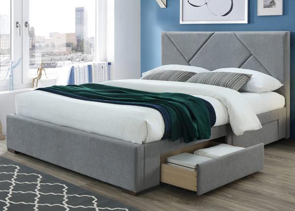 Кровать с ящиками 160x200 cm RA-145644