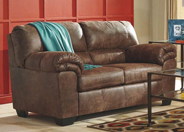 2-местный диван Mirtel, коричневый