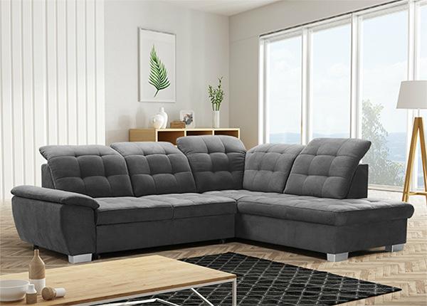 Угловой диван-кровать с ящиком Lotta