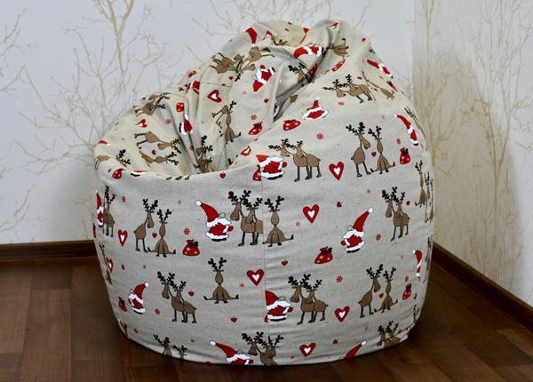 Кресло-мешок + дополнительный рождественский чехол