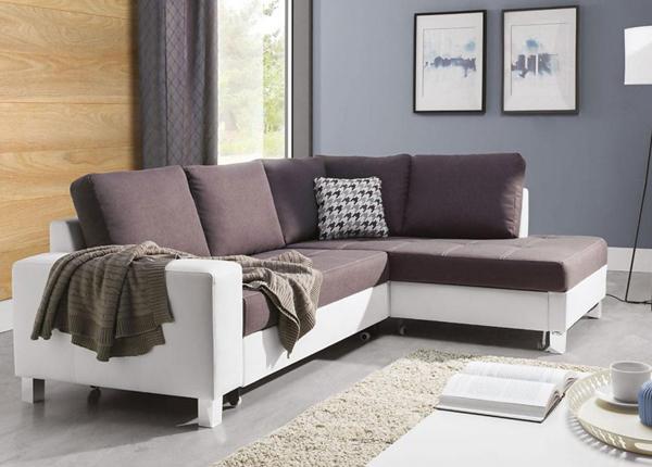 Угловой диван-кровать с ящиком Bari