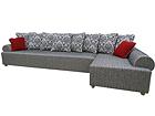 Угловой диван-кровать с ящиком Maxi Hannes SN-28104