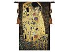Настенный ковер Гобелен Klimt Kiss 139x89 см RY-32744